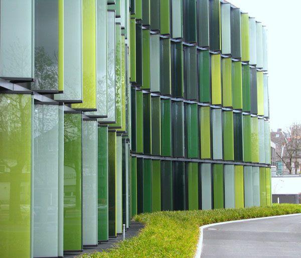 Glass Louver Facade : Cologne oval offices sauerbruch hutton bourbon studio