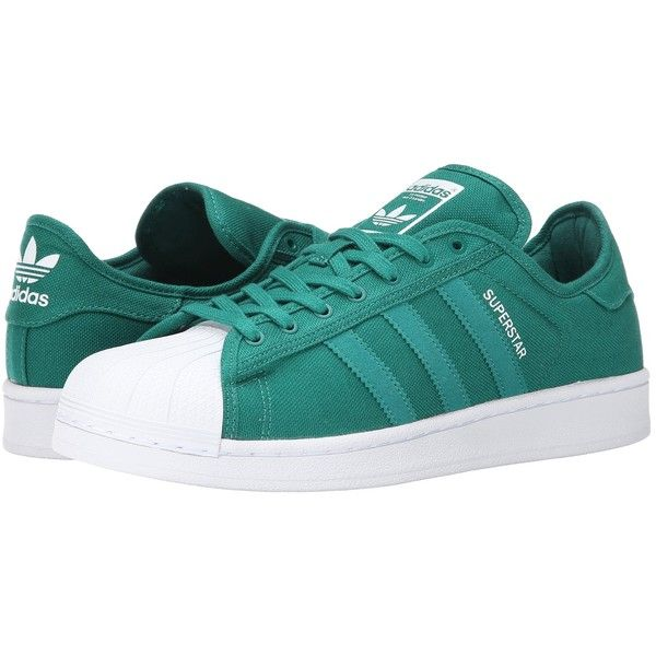 adidas Originals Superstar Festival (Sub Green/White) Men's Shoes ($65) ❤
