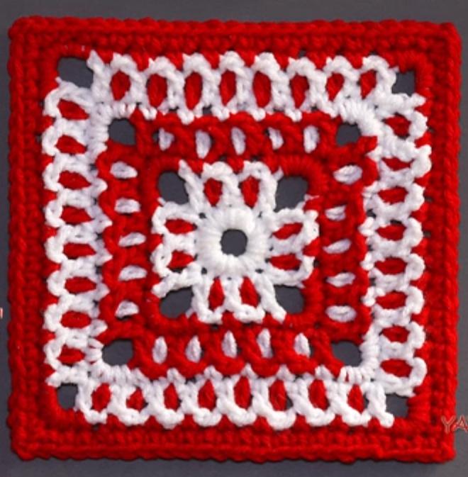 Attractive Granny Square | Granny Square Crochet | Pinterest ...