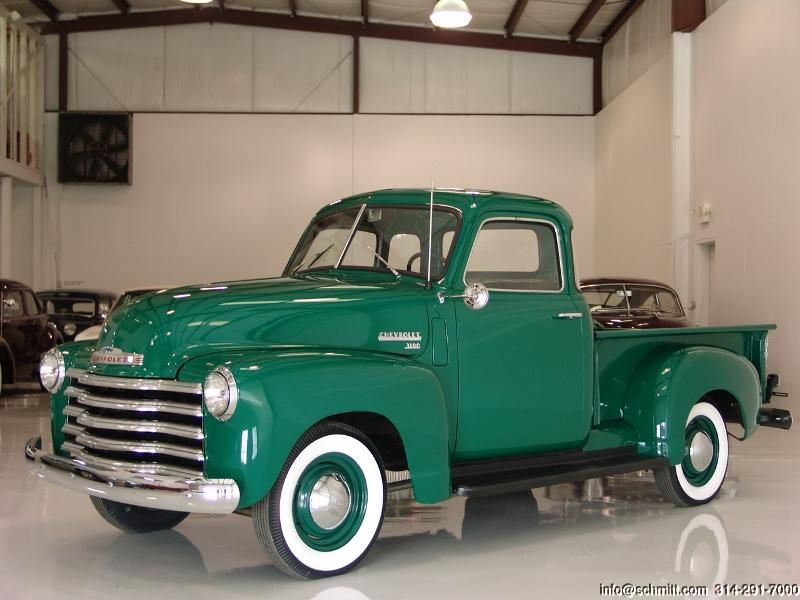 DANIEL SCHMITT & CO CLASSIC CAR GALLERY PRESENTS: 1950 CHEVROLET 3100 5 WINDOW P…