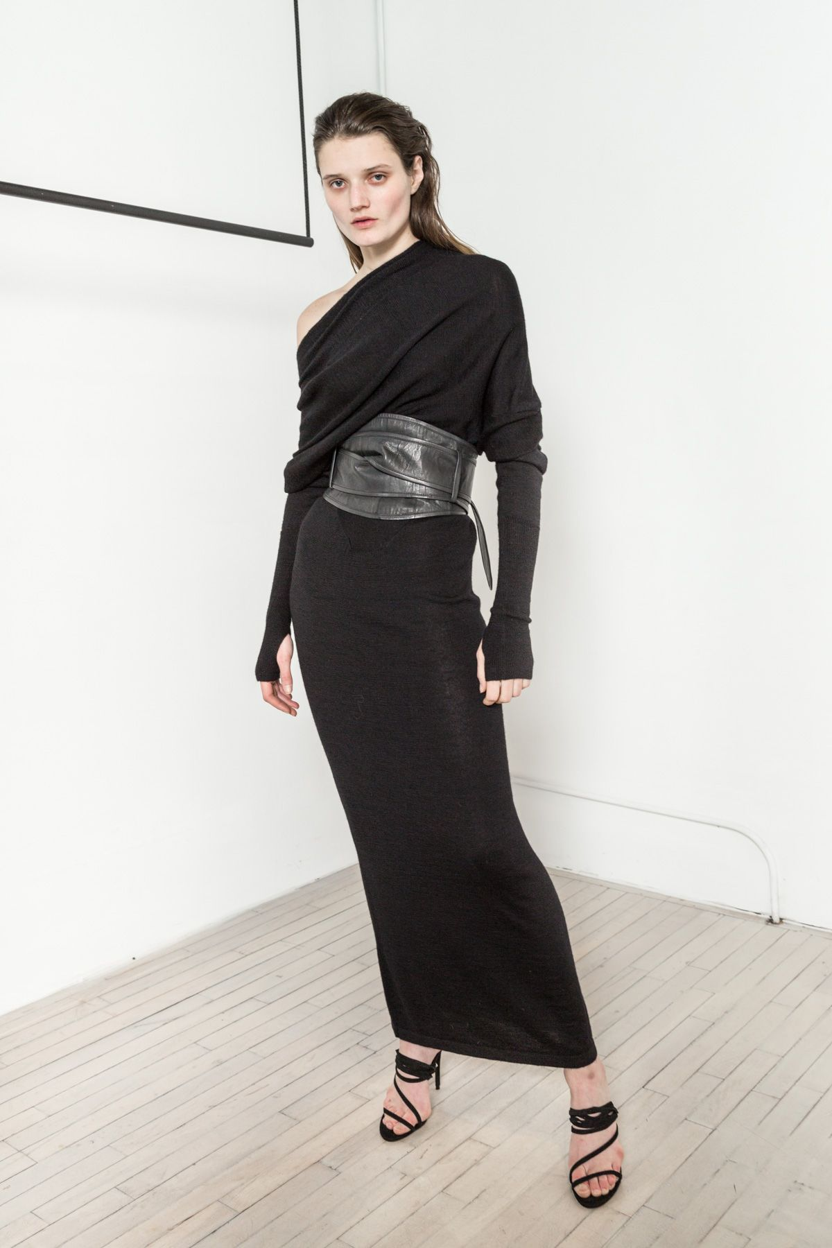 Reversible Long Sweater Dress  3a3bb9396