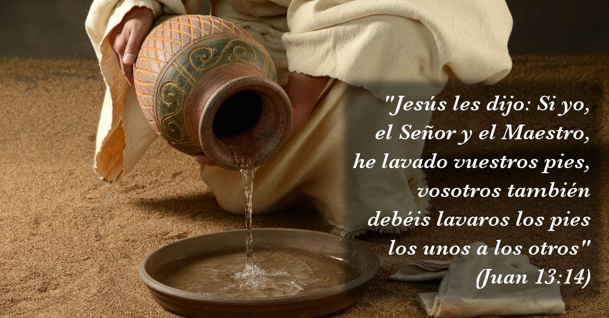Los cristianos hemos sido llamados a servirnos los unos a los otros... Cristo nos dejó ejemplo a lo largo de toda su vida