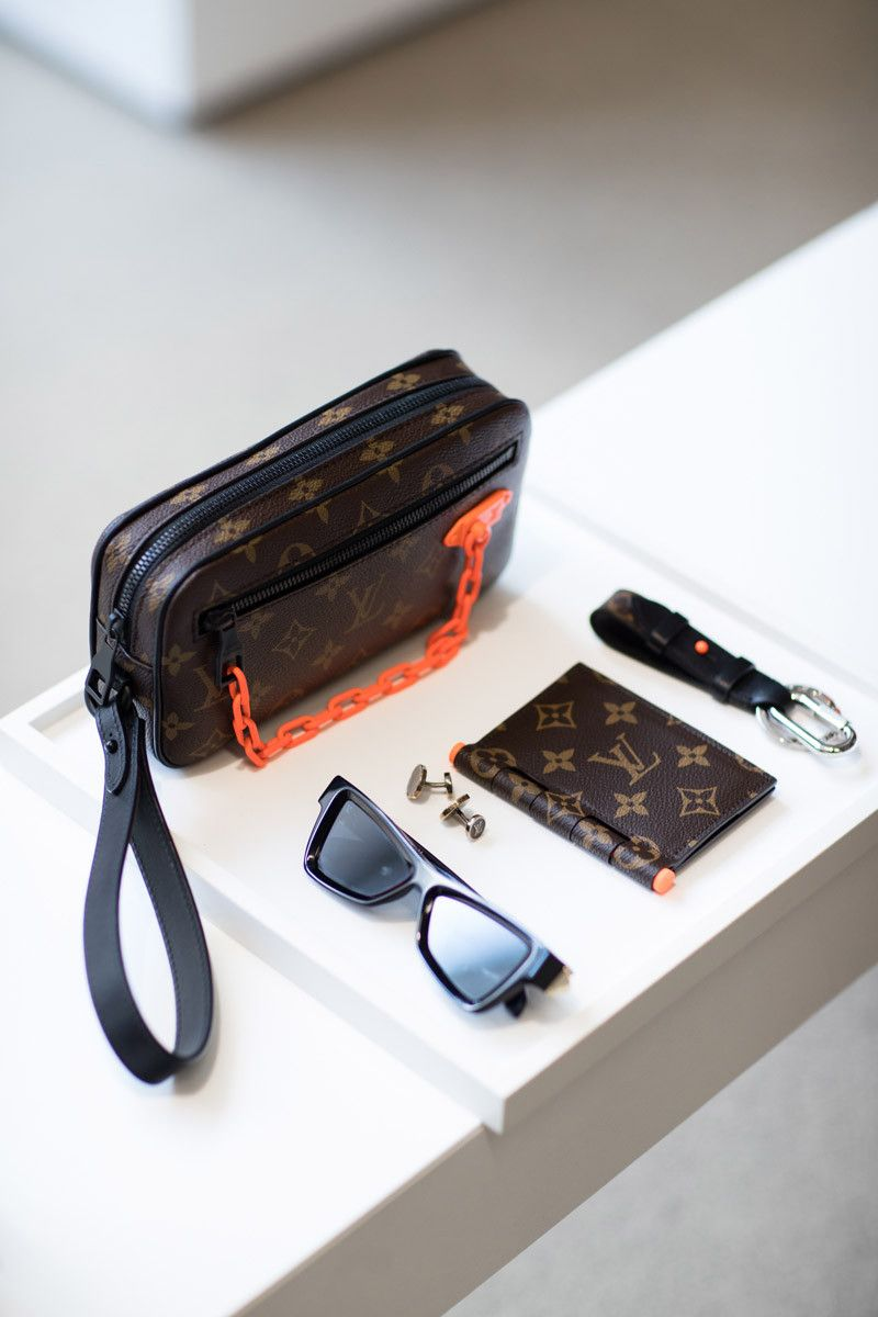 202d7801fc9d First Virgil Abloh-Designed Louis Vuitton Pieces Are Already Hitting  Flagship Stores