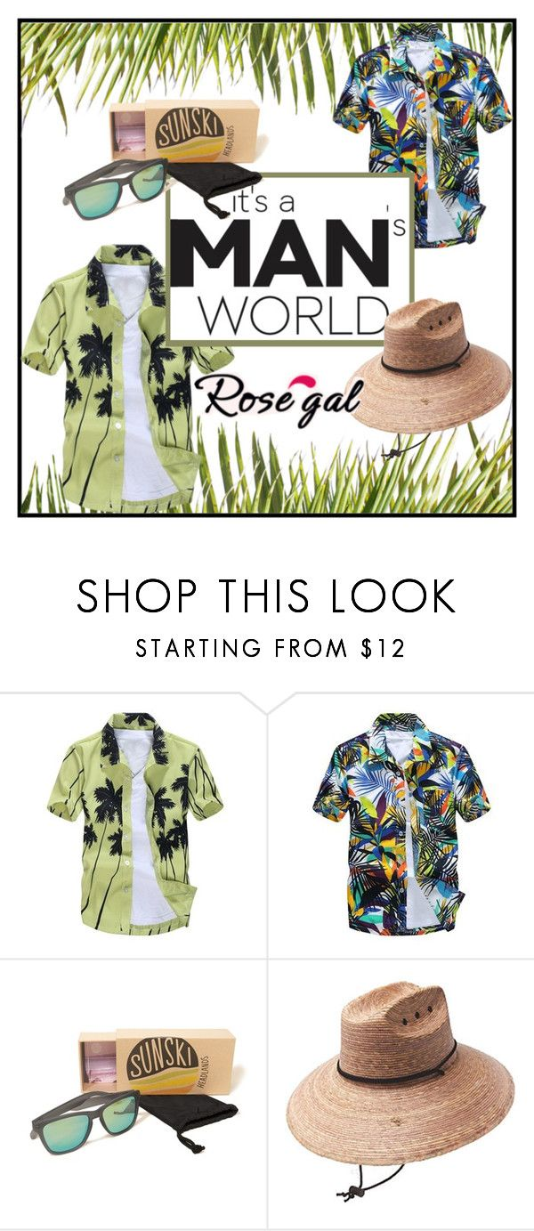 """""""Contest"""" by helena1990 ❤ liked on Polyvore featuring Hollister Co., Peter Grimm, contest, party, hat and rosegal"""