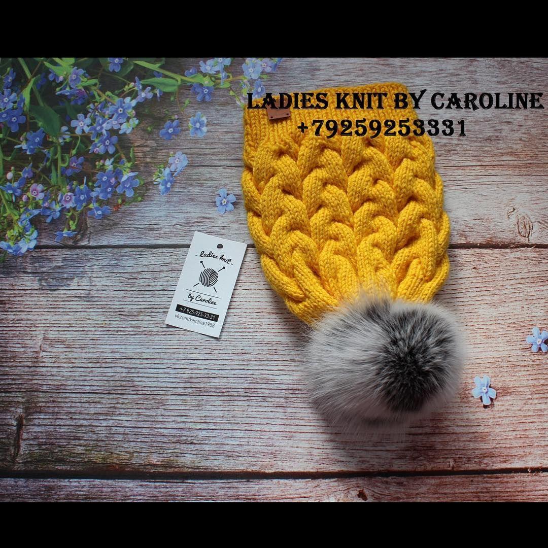 Шапка в наличии. Цена 2000 руб. Возможно к ней связать снуд и варежки.  #Шапочка#knitting#knistagram#knittersofinstagram#iloveknitting#knitwear#hendknit#длядетей#меринос#кашемир#вяжутнетолькобабушки#ручнаяработа#насочки#творчество#инстамама#зимнийкомплект#шапкакосами#питер#омск#чита#варежки#вяжуназаказ#люблювязать#вязаниеспицами