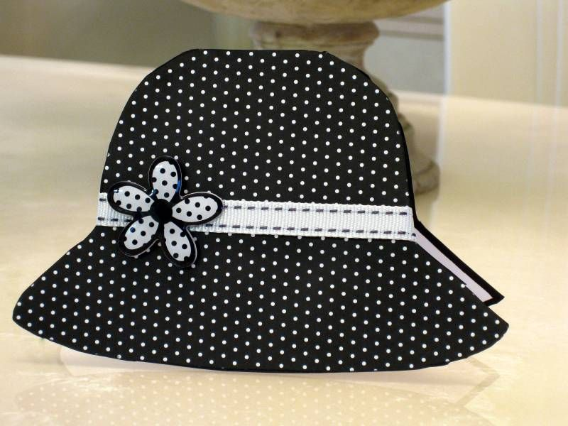 WT207 Frugal Hat by ctorina - Cards and Paper Crafts at Splitcoaststampers