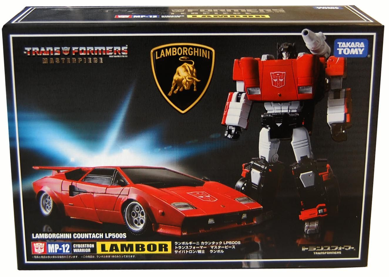 LAMBOR LAMBORGHINI COUNTACH LP500S BOXED NEW TRANSFORMERS Masterpiece MP-12