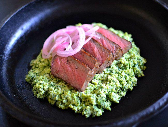 Green Eggs & Steak