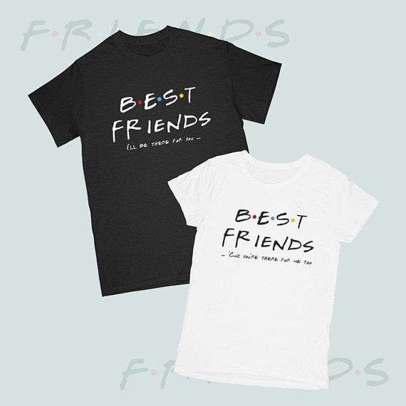 4b83d87f4 Couple T-shirts Best Friends Price for 1 tshirt T-shirts Friends matching  BFF Best Friend Tshirts Matching shirts Friend birthday gift