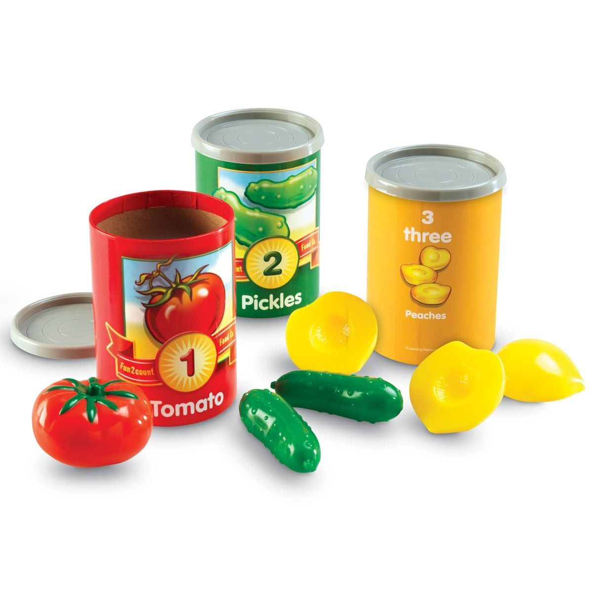 1 to 10 Counting Cans | EYP Direct