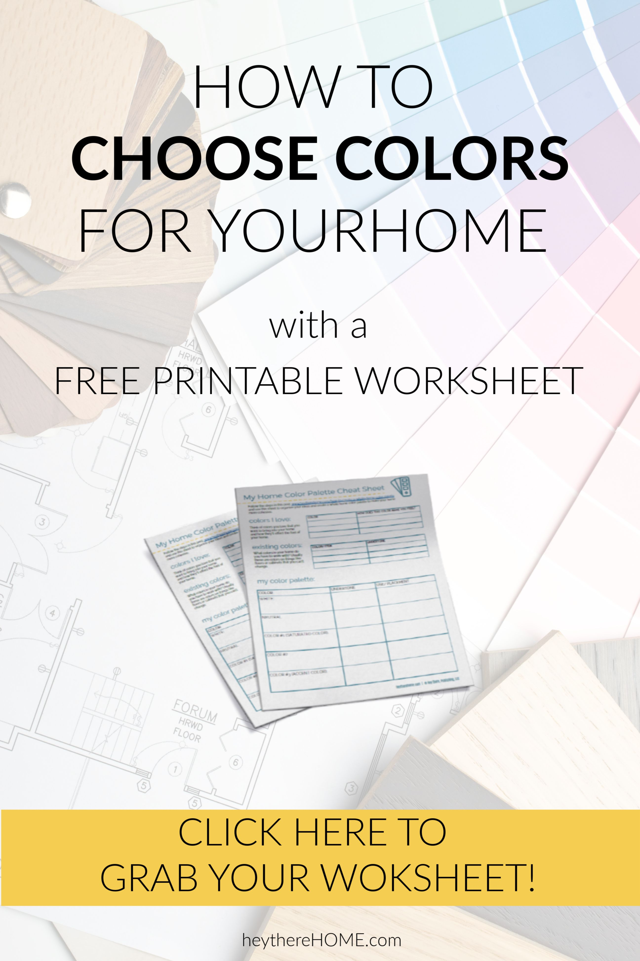 This Printable Worksheet Makes It So Stress Free To Choose