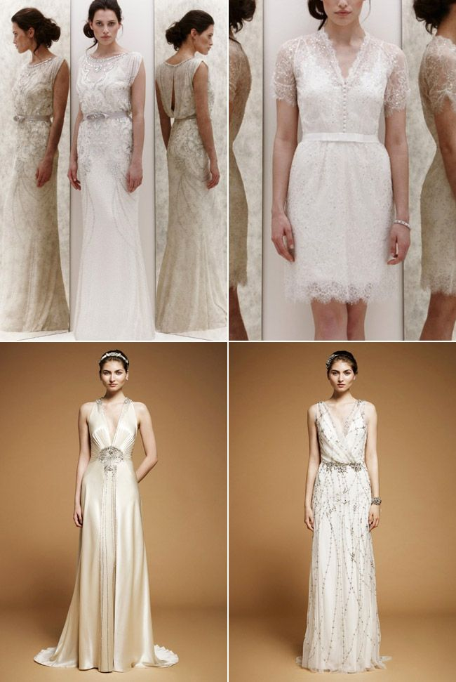 Gatsby Inspired Wedding Dresses | Great Gatsby Wedding Style ...