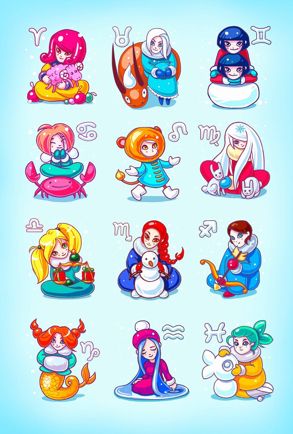 Winter Love Horoscopes 20152016 Zodiac signs, Zodiac