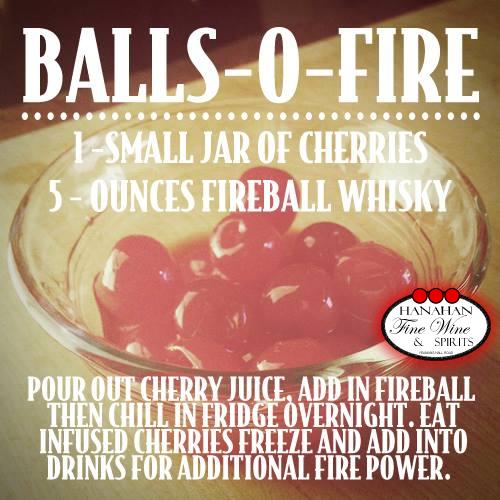 Goodness. Gracious. Great. Balls-o-Fire Recipe Using