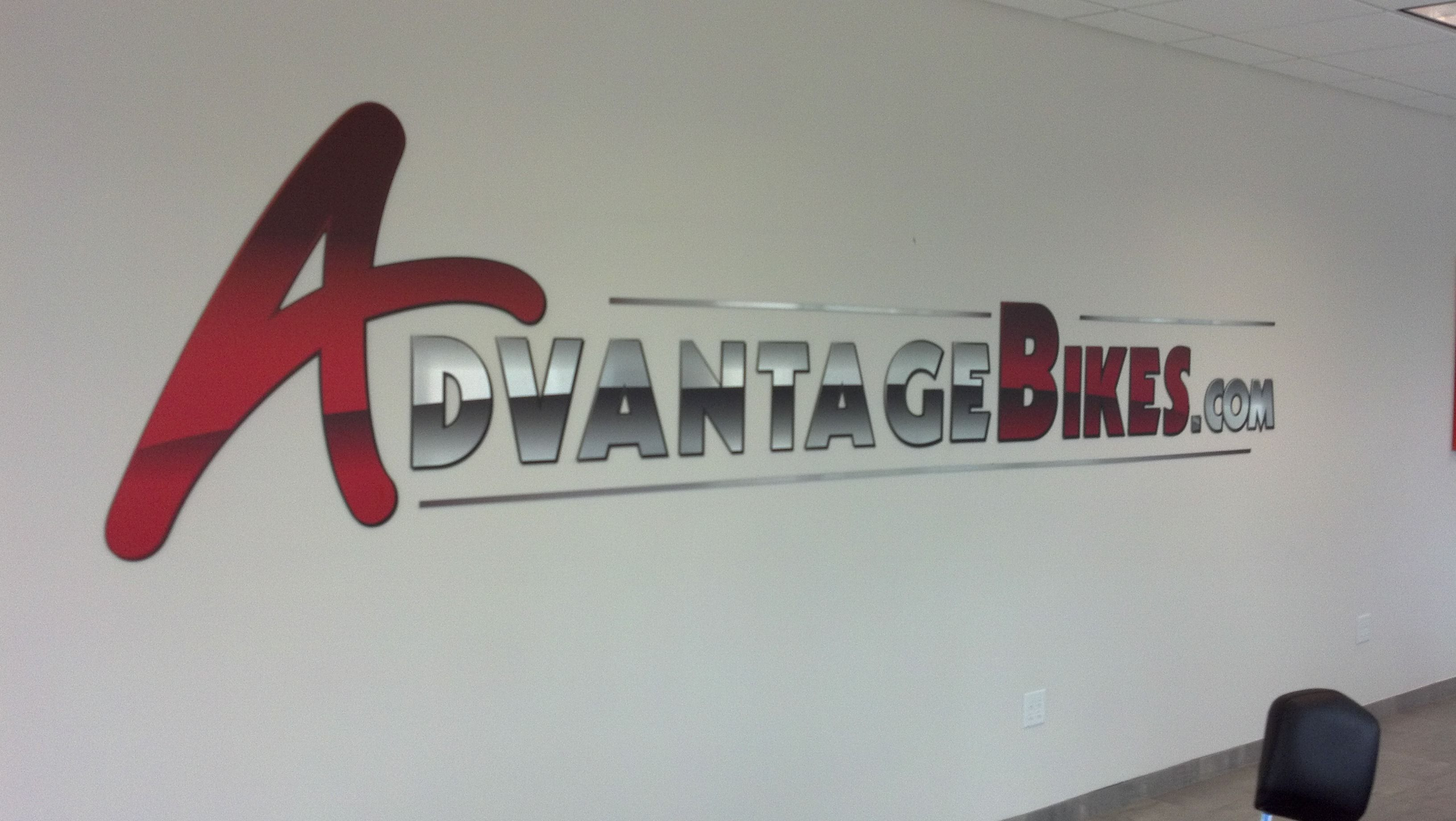 Aluminum Sign Letters Digital Print On 3Mm Brushed Aluminum Dibond And Cut Out On Router