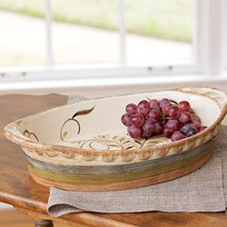 Gail Pittman Alfresco Server From Willow House. On Sale For $34.96!