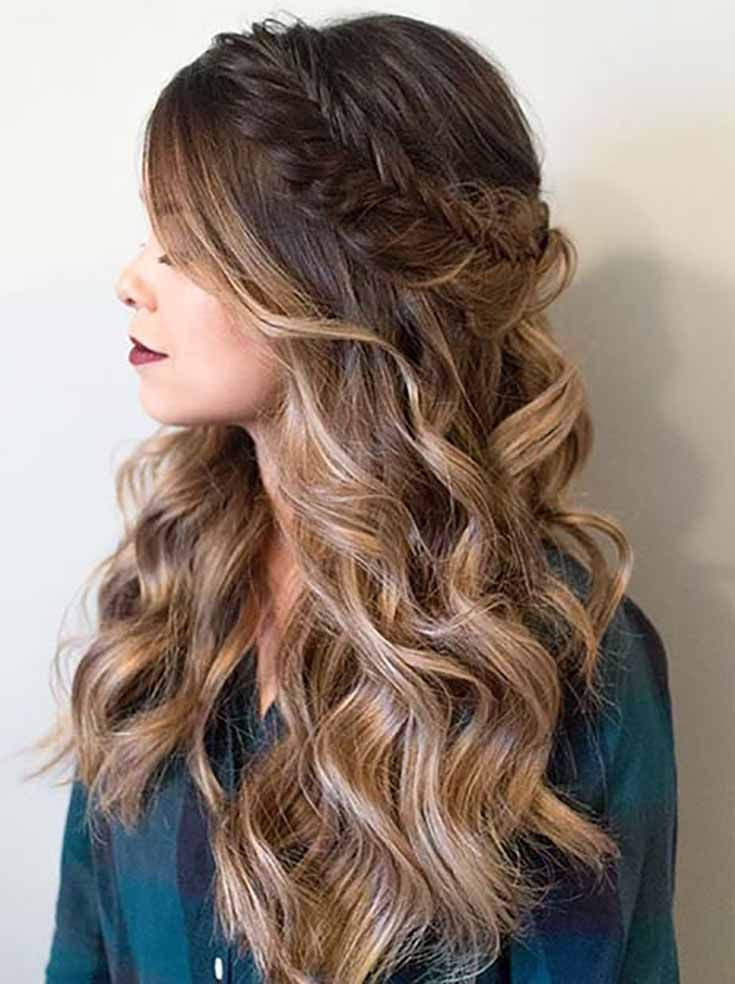 5 Easy Braided Prom Hairstyles Pinterest Prom Hairstyles Prom
