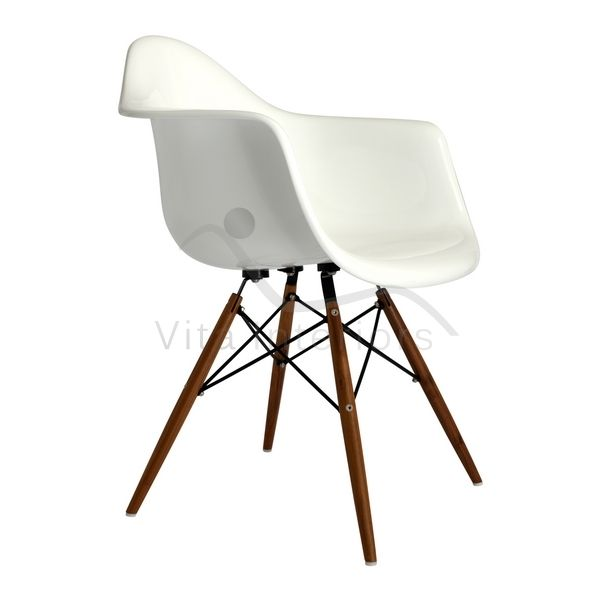 Charles Eames Style DAW Chair In Fibreglass