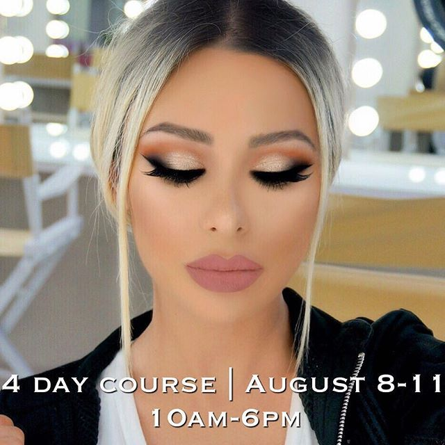 Kiss Out Of Makeup: Next Upcoming 4 Day Course! @vanitymakeup.studio August 8