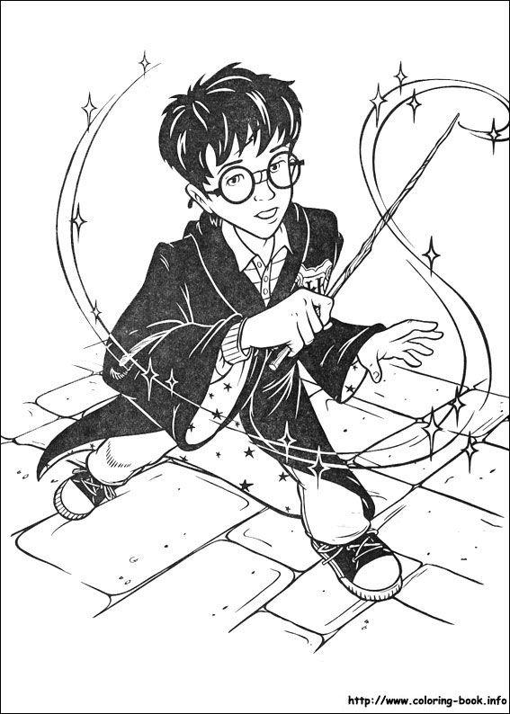 Harry Potter And The Sorcerer S Stone 1997 Harry Potter Coloring Pages Harry Potter Coloring Book Harry Potter Artwork