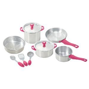My First Kenmore 10 Piece Pots Pans Set By Playgo Kmart