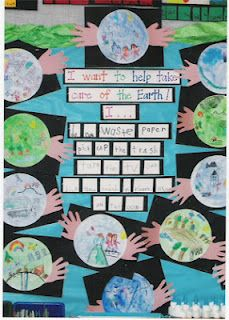 We've got the whole world in our hands! Earth Day Project from www