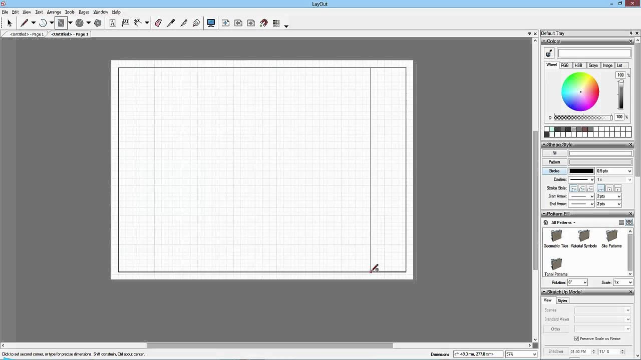 Sketchup To Layout 14 Creating The Template Ovelha
