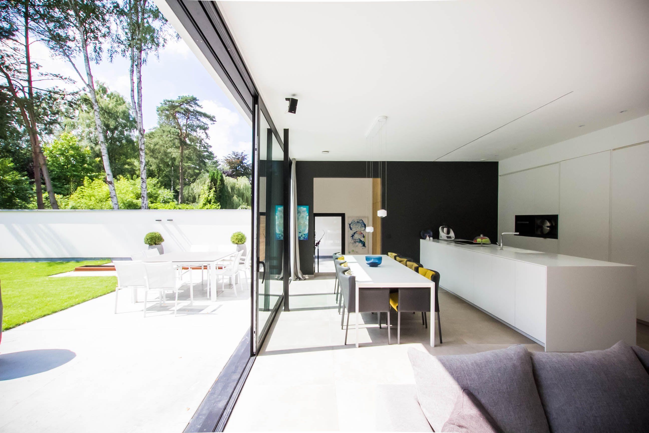 Moderne Open Keukens : Moderne keuken met keukeneiland ruim keukeneiland open keuken