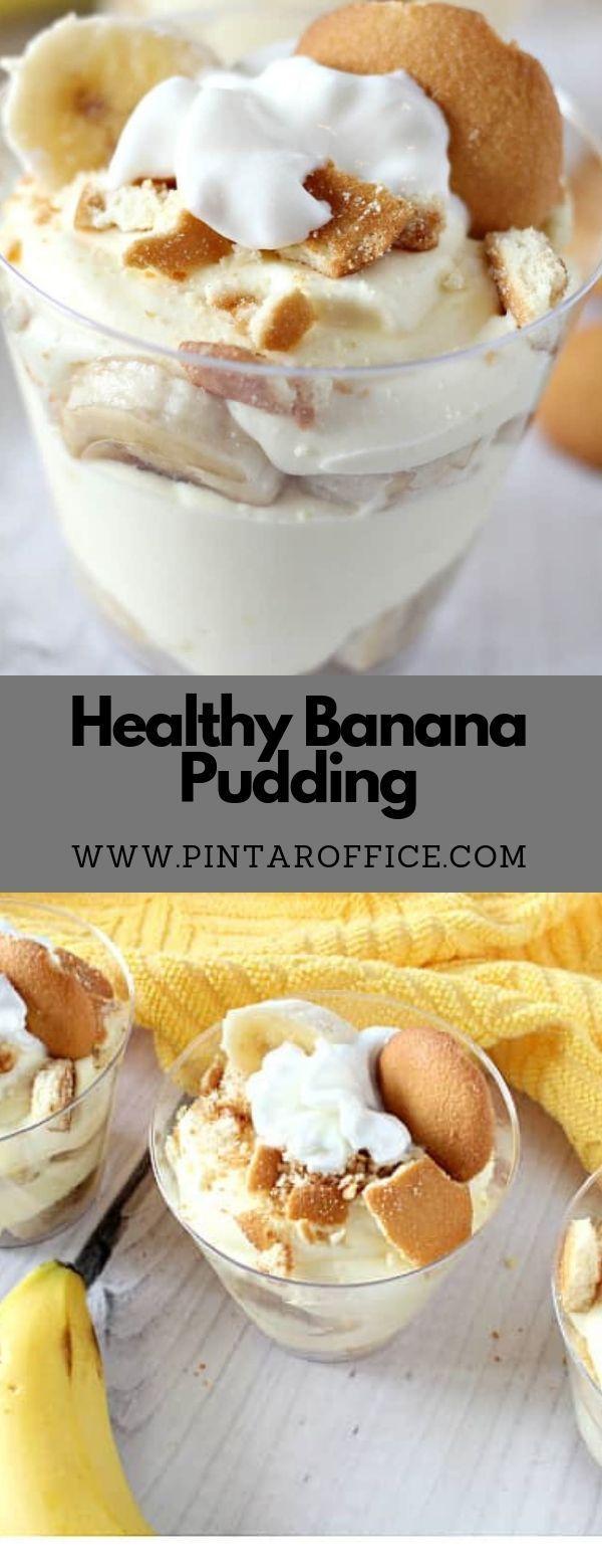 Healthy Banana Pudding   - Dessert, Sweet and Cake -