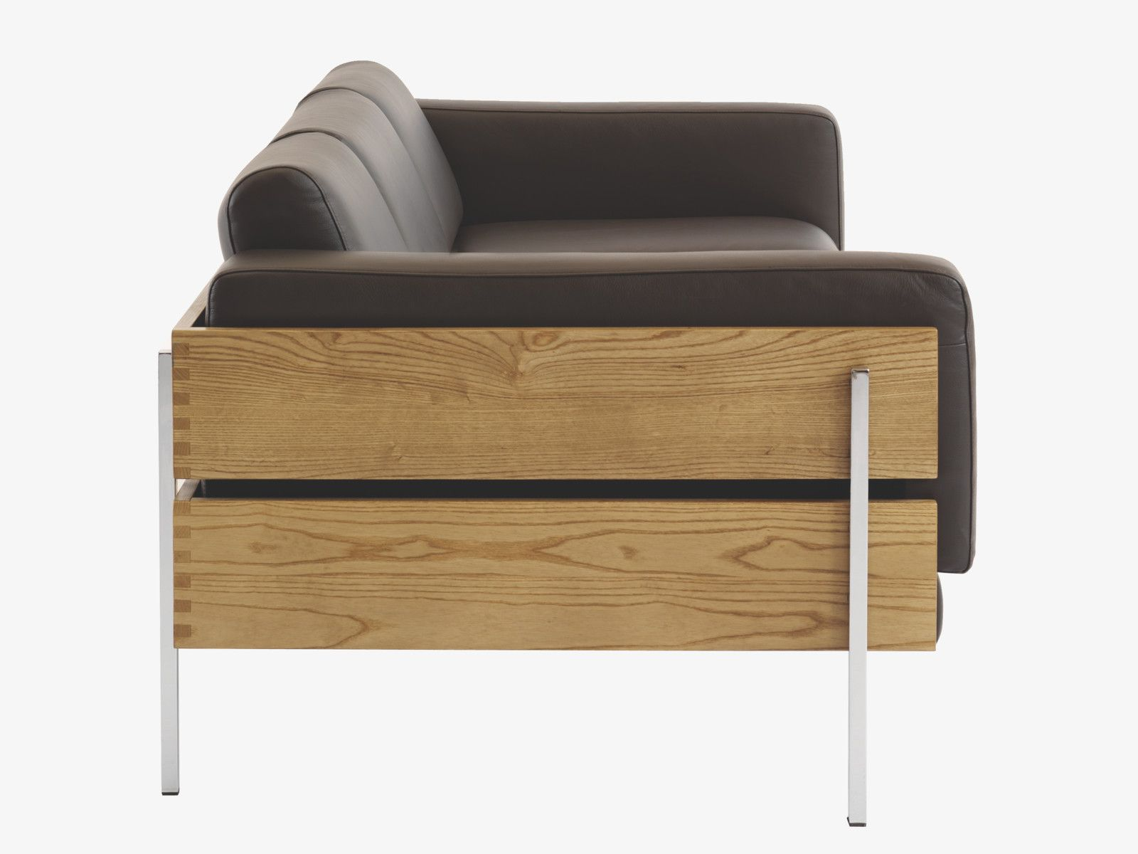 Habitat Days Forum Brown Leather sofa
