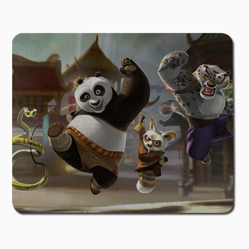Kung fu panda anime mouse pad computer mousepad boys gifts