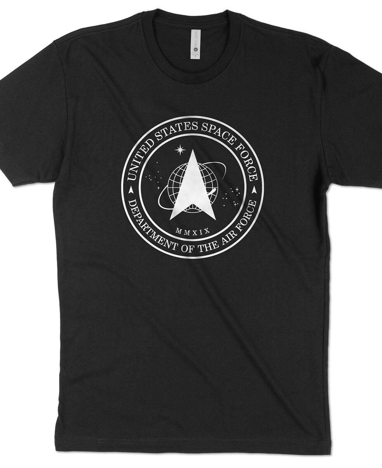 SPACE FORCE LOGO Nasa Trump Star Trek Air Force TShirt