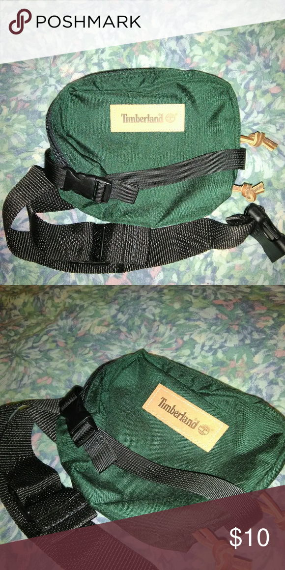 d6f767ea552 Timberland fanny pack Forest Green fanny pack one pocket. Timberland  Accessories