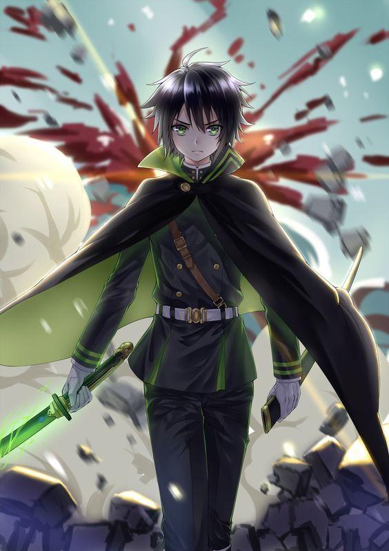 Seraph Of The End Yuichiro Art Seraphoftheend Yuichiro Anime Art Owari No Seraph Seraph Of The End Seraphim