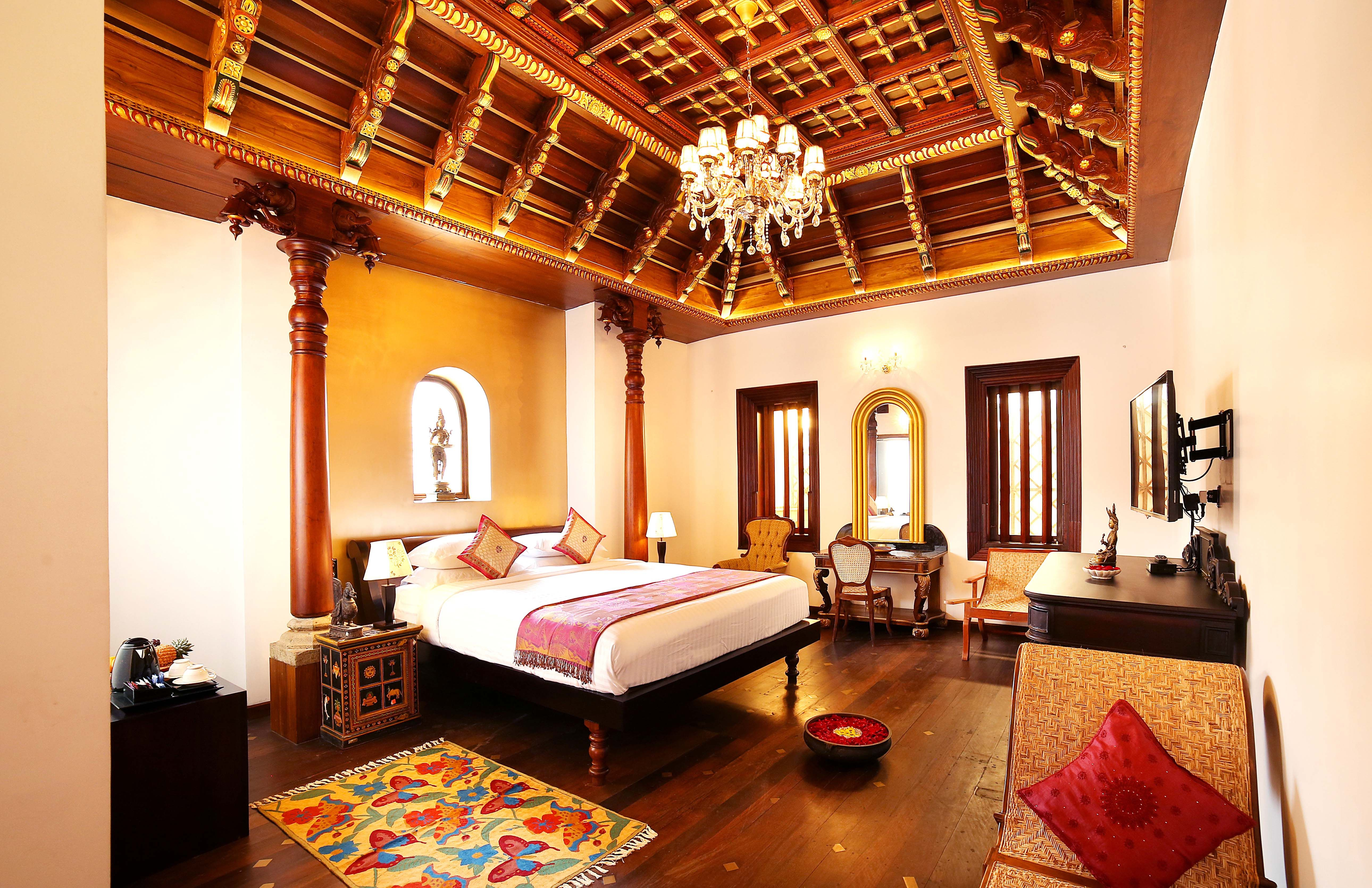 Kerala Traditional Style Interior Desiging With Images Hotel