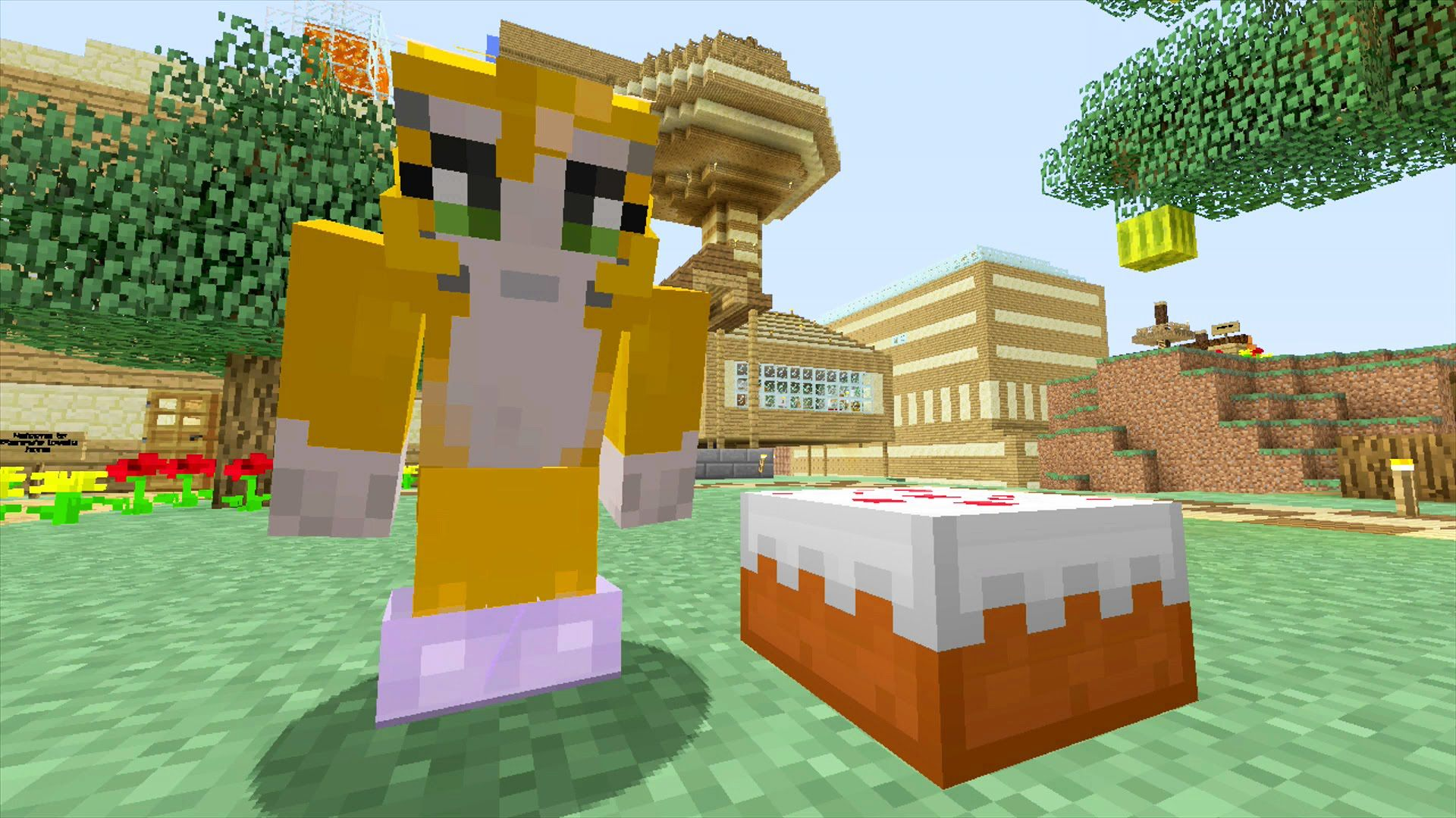 Stampy Hunger Games Cake House