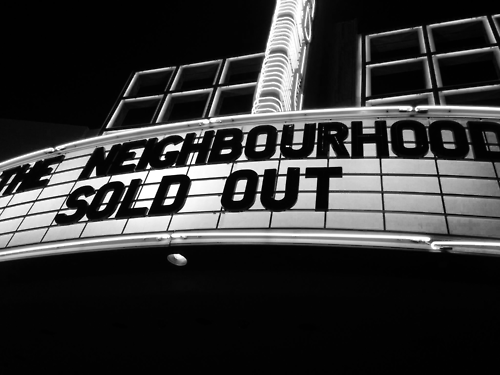 Sold Out Concert Signs Sold Out Sign The Neighbourhood