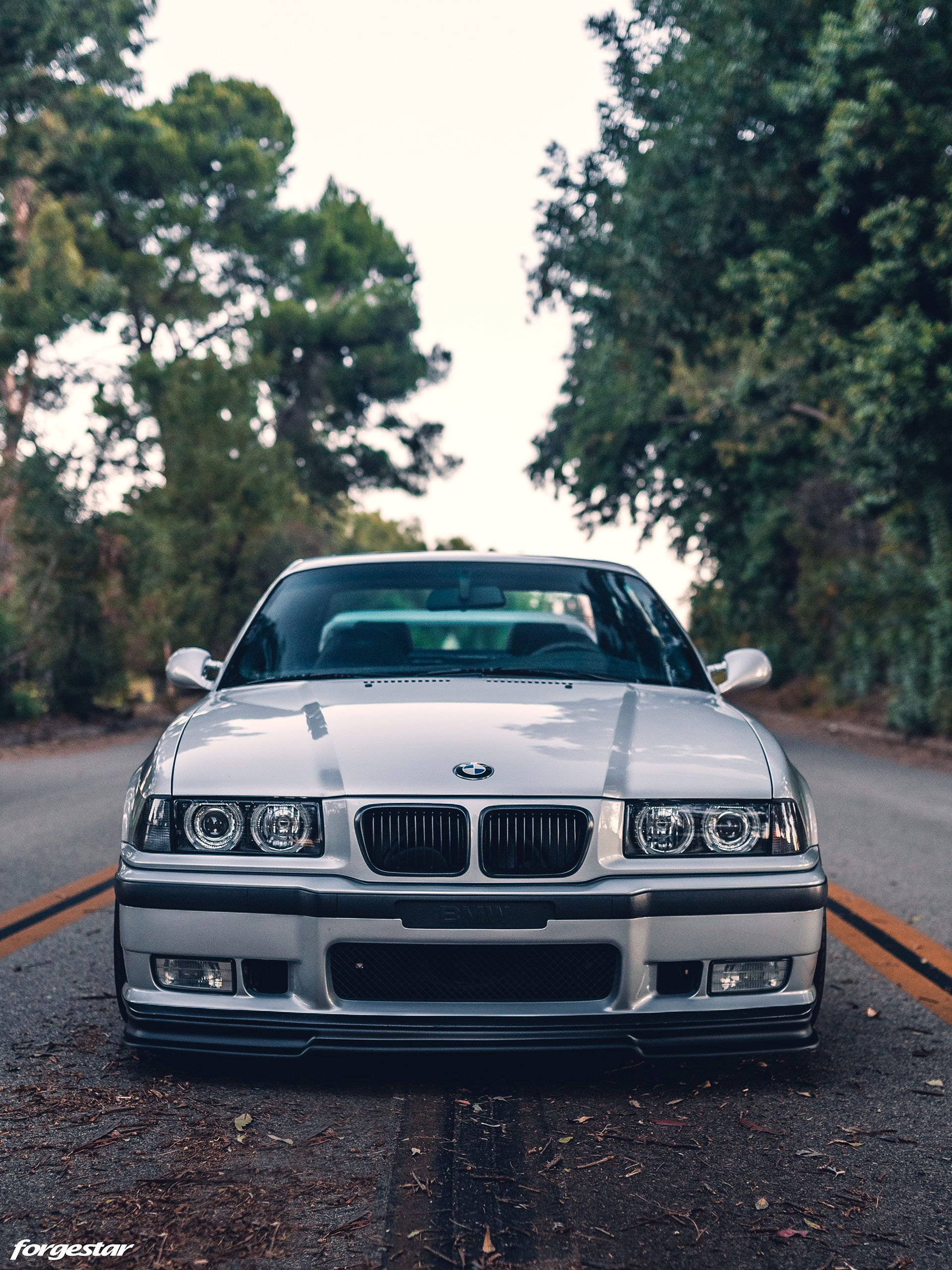 Clean Artic Silver Bmw E36 M3 With Aftermarket Mods And Wheels Bmw E36 M3 Bmw Bmw E36