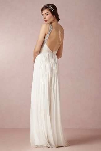 Tia Gown-- dainty back. sweet dress.