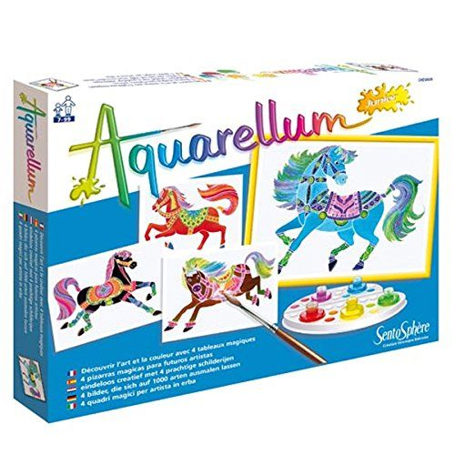 Sentosphere Aquarellum Junior Horses Sentosphere Usa Painting