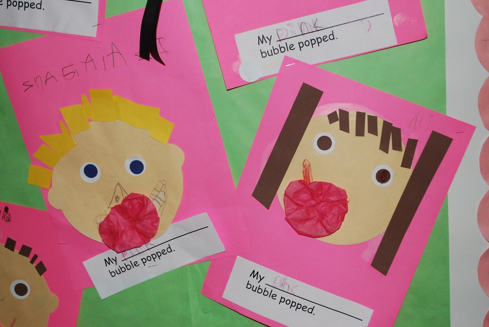 Kinder Kapers: Today was pink. Teaching the color pink, graphing ...