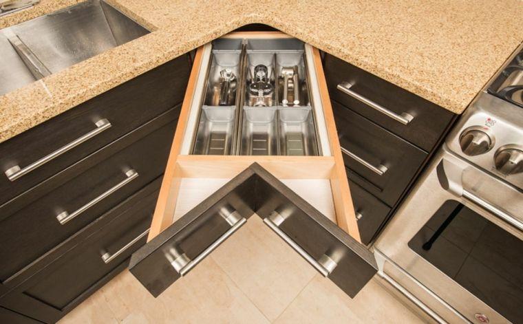Contemporáneo Esquina Cocina Asheville Ornamento - Ideas para ...