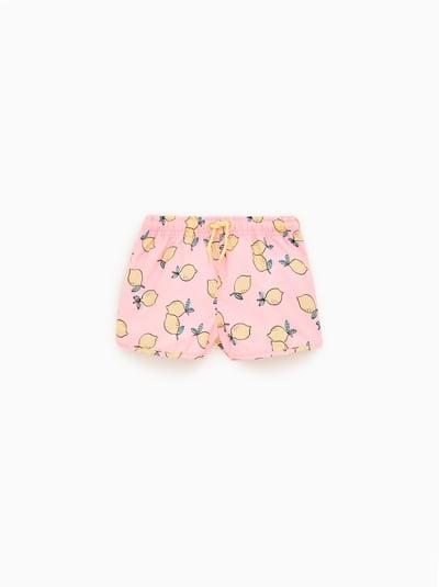 1843da7001db ZARA - Unisex - Lemon swim shorts - Pink - 6-7 years (47,24 inches ...