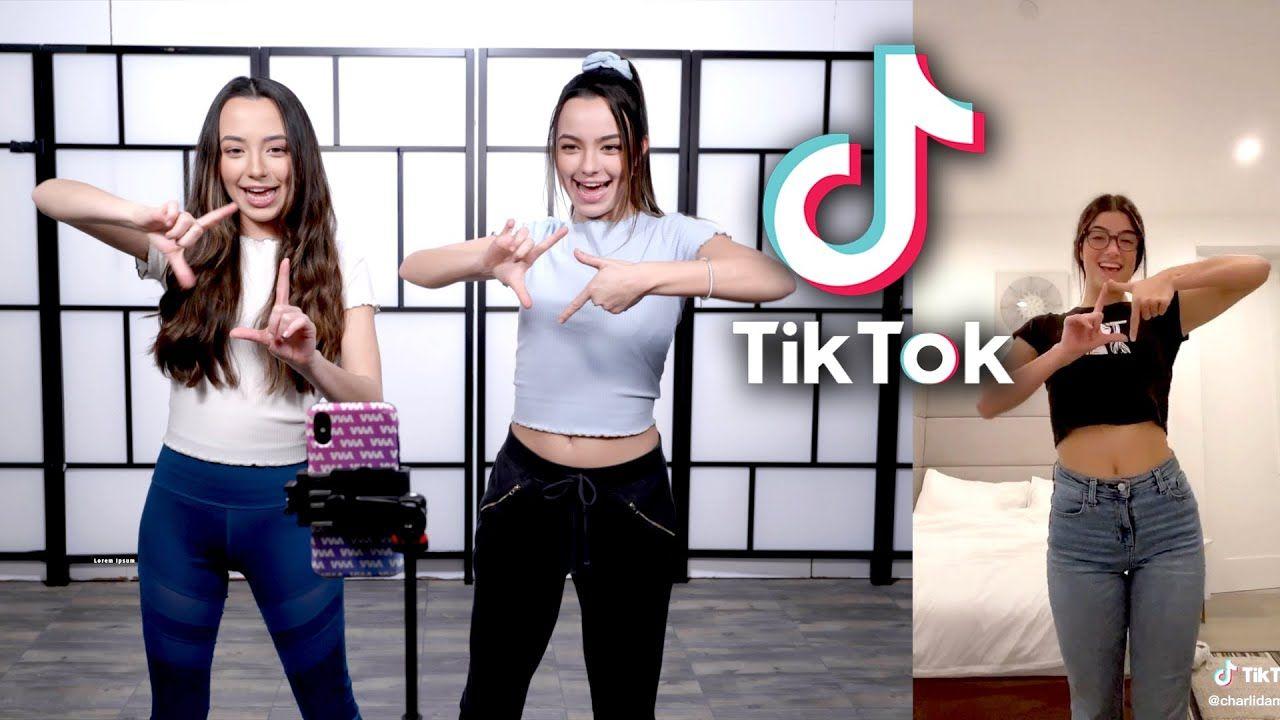 Learning Popular Tiktok Dances Merrell Twins Merrell Twins Dance It Out Dance