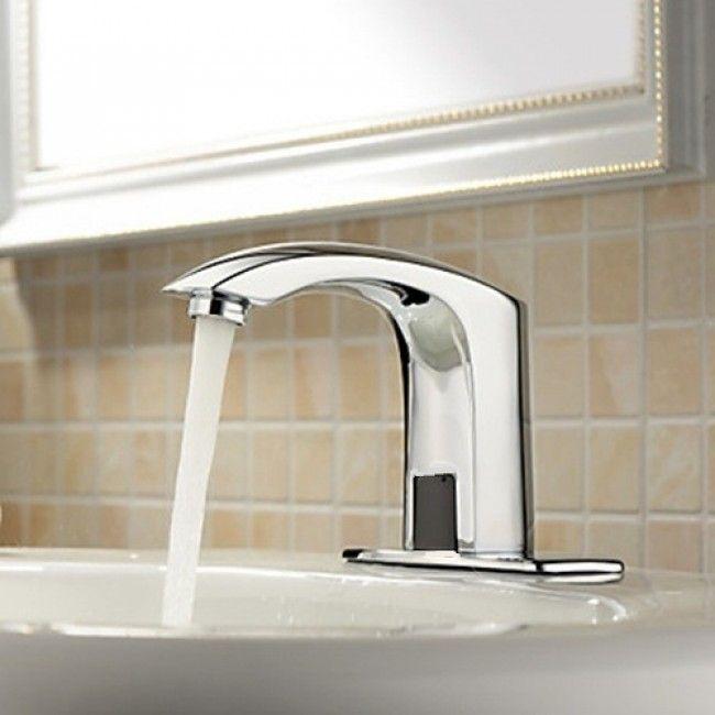 Motion Sensor Bathroom Faucet Brass Bathroom Faucets Bathroom Sink Taps Bathroom Sink Faucets Chrome