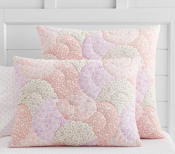 Leila Wholecloth Quilted Euro Sham Quilt Bedding
