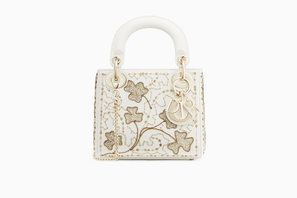 Mini Lady Dior bag in embroidered calfskin - Lady Dior Dior  b4872980eeaea