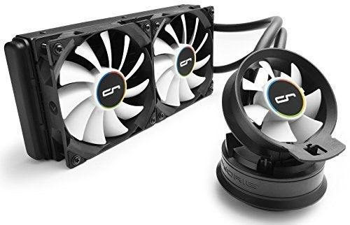 Cryorig A40 Hybrid Liquid Cooler 240mm Radiator With Additional