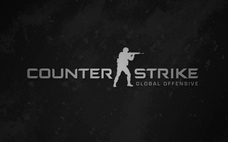 Counter Strike Global Offensive Black Logo Hd Wallpaper Wallpapers Gg Go Logo Go Wallpaper Strike