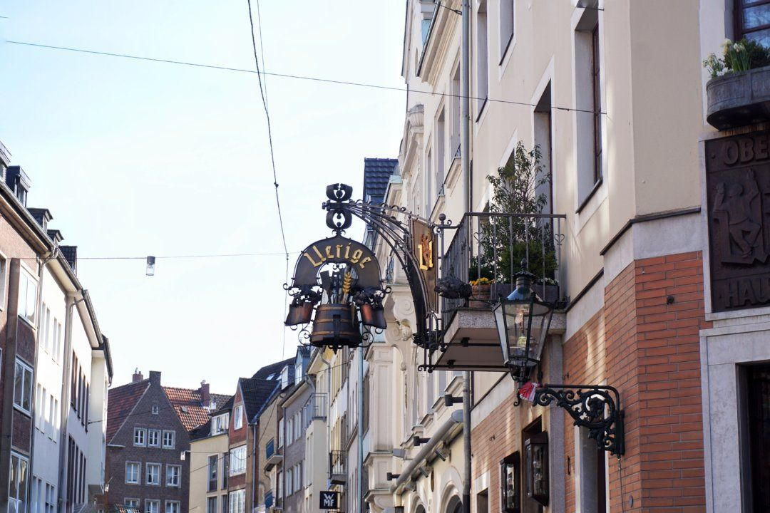 Altstadt Old Town dusseldorf germany Underrated Cities